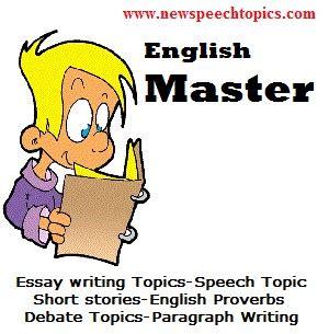 Persuasive essay topic example